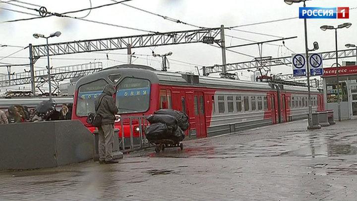 Утренний сбой нарушил движение электричек Ленинградского направления