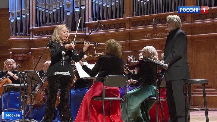 """В Московской консерватории представили новый спектакль-концерт """"Вивальди-оркестра"""""""