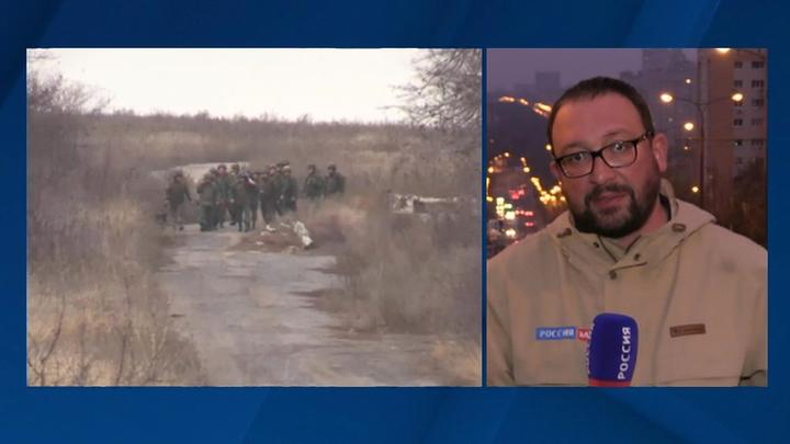 Украинские силовики снова нарушили режим тишины в районе участка разведения сил в Петровском