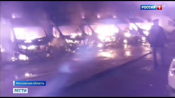 В Раменском районе сгорели 13 мобильных комплексов фотовидеофиксации нарушений