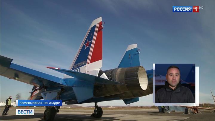 В Кубинку доставили четверку новейших истребителей Су-35С
