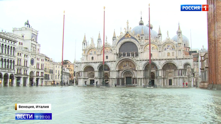 Венеция вздрагивает от сирен, подсчитывая убытки от наводнения