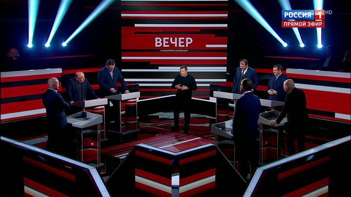 Вечер с Владимиром Соловьевым. Эфир от 13 ноября 2019 года
