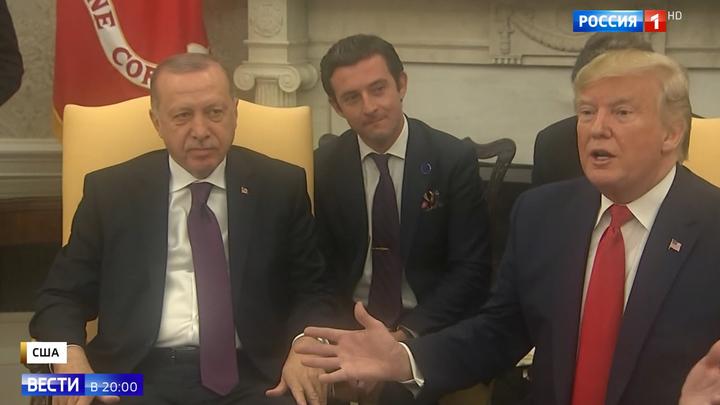 """Отношения """"на дне"""": лидеры США и Турции не могут договориться"""