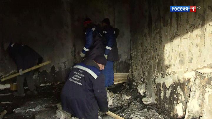 Взрыв и пожар в доме на Удальцова: горели квартиры на трех этажах