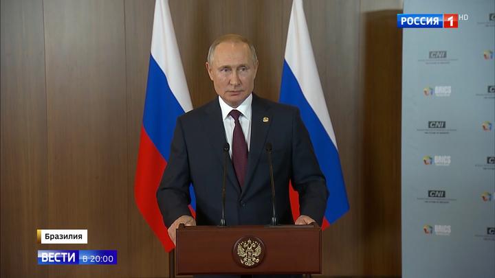 Телушка за полушку и стоптанные сапоги: о чем рассказал Путин после БРИКС
