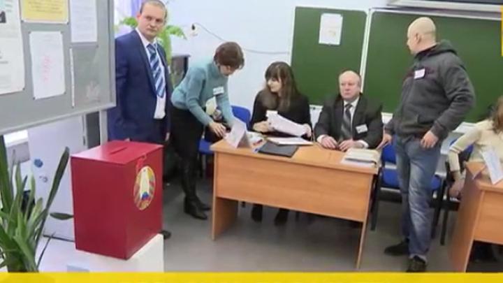 В Белоруссии начались выборы в парламент