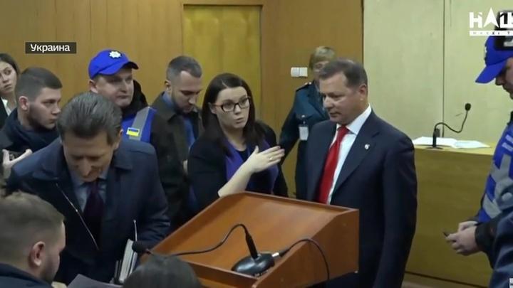 Депутат Рады Олег Ляшко может сесть за драку
