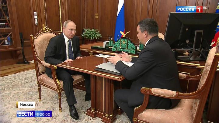 Все проблемы - через смартфон: о чем доложил президенту вице-премьер Акимов
