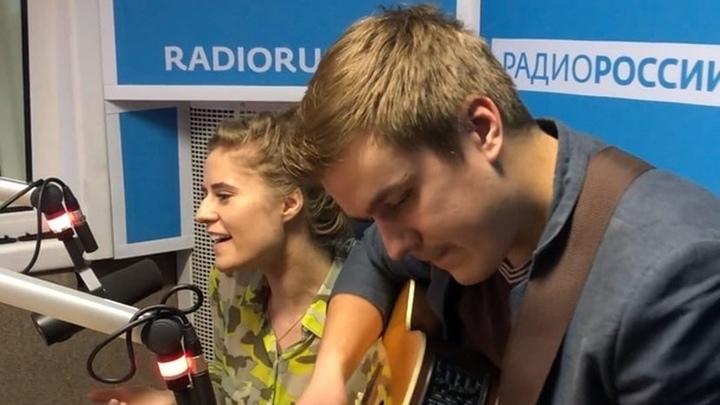 """Группа """"Элена и ребята"""" в студии """"Радио России"""""""