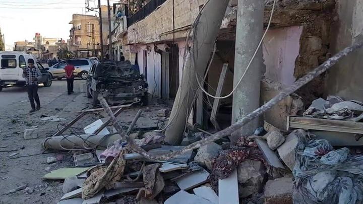 Сирия вновь подверглась атаке турецких и израильских беспилотников