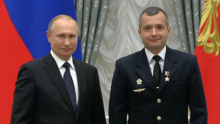 В Кремле проходит церемония вручения наград