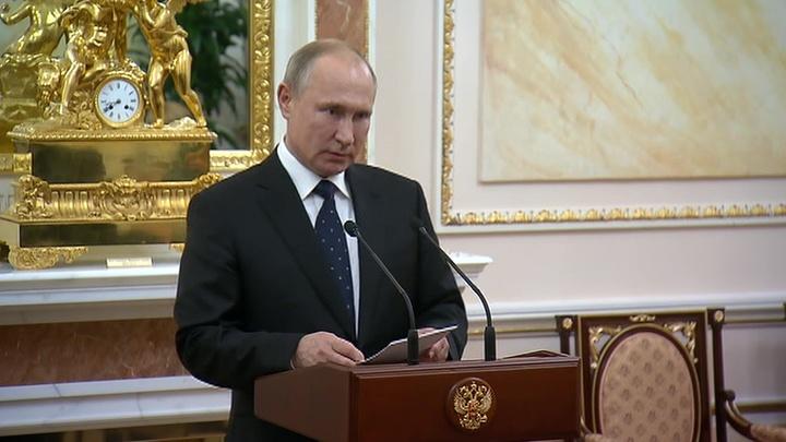 Путин: погибшие под Северодвинском испытывали не имеющее аналогов оружие