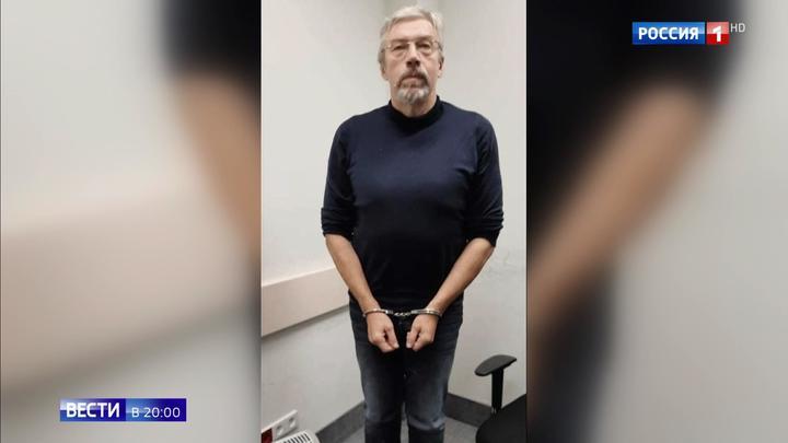 Обросший бородой и похудевший: в Москву доставили беглого бизнесмена Чернякова