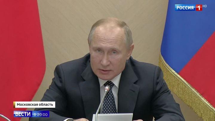 Ставка — на самые современные технологии. Путин поставил задачи Совбезу