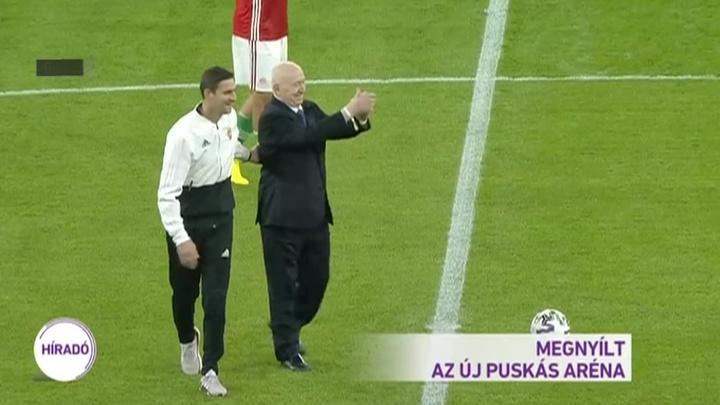 Симонян рассказал, как открывали стадион имени Пушкаша
