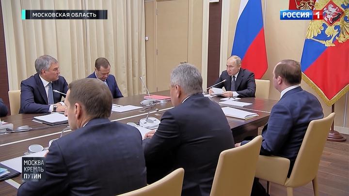 Особая миссия: президент вручил ордена Мужества вдовам погибших под Северодвинском