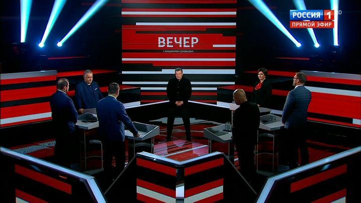 Вечер с Владимиром Соловьевым. Эфир от 27 ноября 2019 года