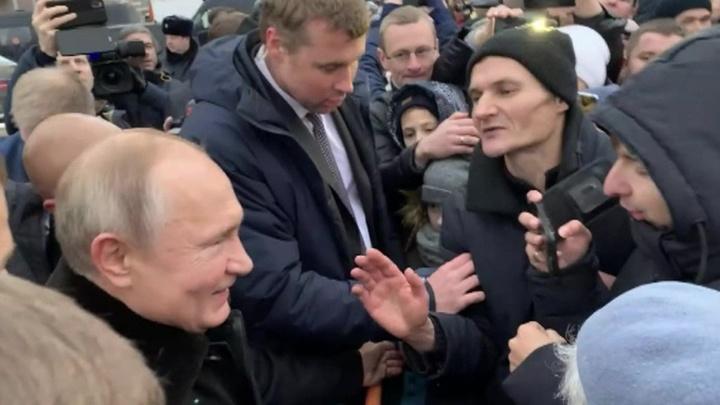 Путин посоветовал не зацикливаться на Украине и подумать о себе