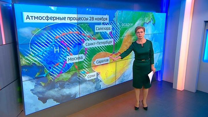 """""""Погода 24"""": зима в Москву придет по расписанию"""