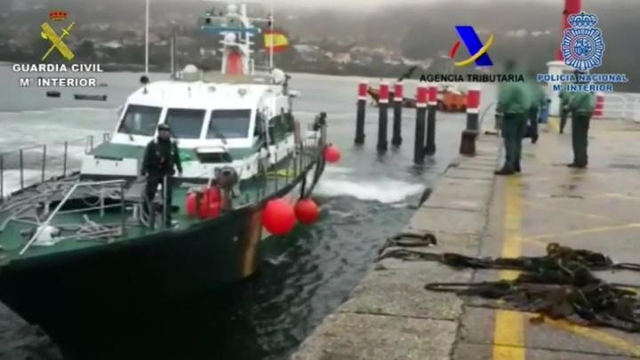 В Испании поймана подлодка с наркотиками на сто миллионов евро