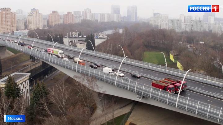 Северо-Западная хорда полностью готова: открыт мост через Канал имени Москвы
