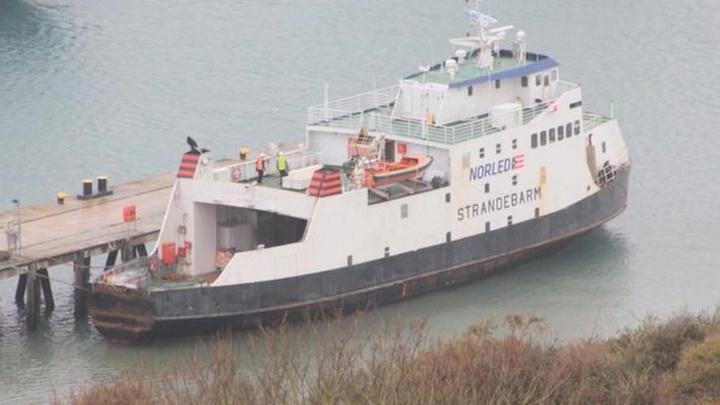 Великобритания задержала нигерийское судно с российским экипажем