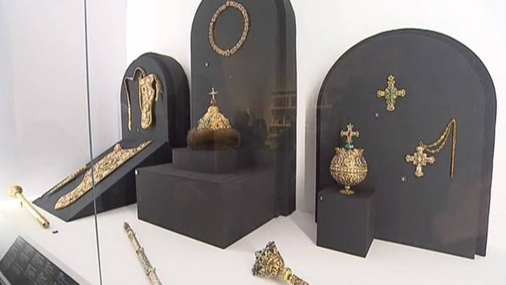 В Кремле открылась необычная выставка предметов искусства Петра Первого