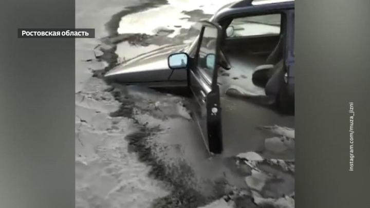 Ветром сдуло: куда ушла вода из Азовского моря
