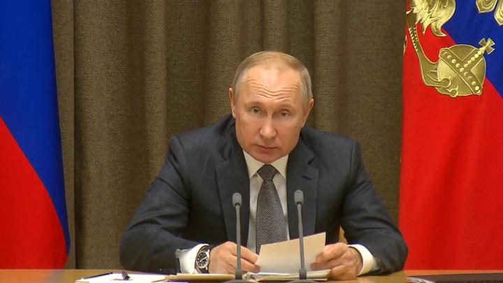 """Путин: корабли с гиперзвуковыми """"Цирконами"""" должны сохранить стратегическую стабильность"""