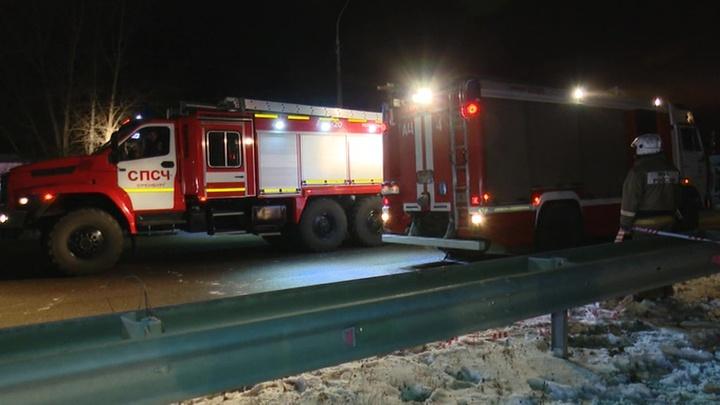 По факту обрушения путепровода в Оренбурге возбудили уголовное дело