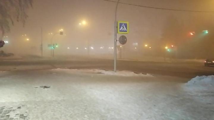 Города Кузбасса окутал густой смог