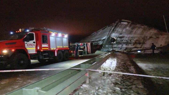 ЧП в Оренбурге: обрушился один из городских мостов
