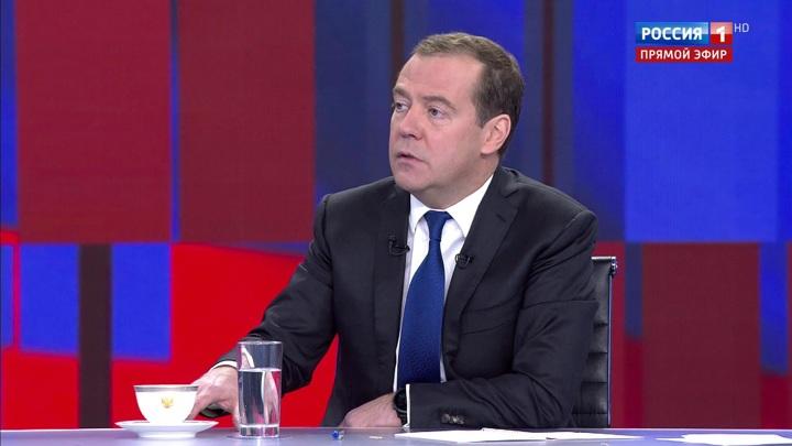 Медведев: тема допинга – бесконечный антироссийский сериал