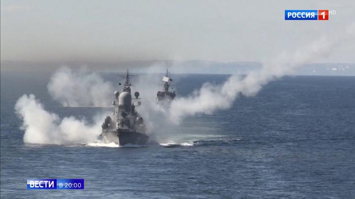 На флотах РФ активно осваивают новое вооружение