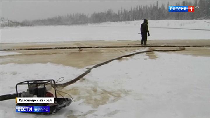 Несколько поселков на севере Красноярского края оказались в транспортной блокаде