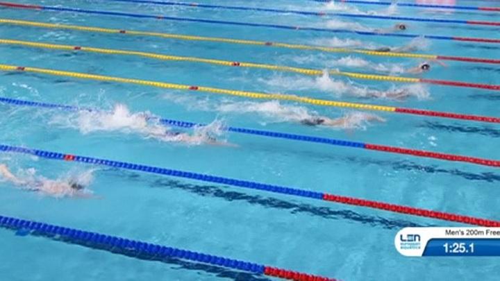 Сборная России по плаванию с рекордом мира взяла золото в микст-эстафете 4х50 м на чемпионате Европы