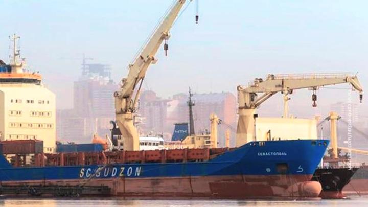 В Сингапуре арестовано российское торговое судно