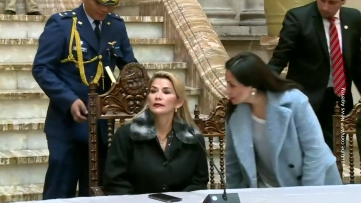 Жанин Аньес отказалась от участия в выборах президента Боливии
