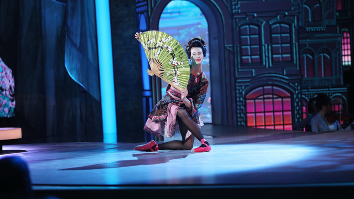 "Ярославна Куприна, г. Санкт-Петербург Й. Байер, танец японской куклы из балета ""Фея кукол"""
