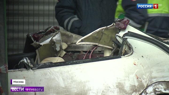 Пассажиров выковыривали из салона: страшную аварию в Москве устроил пьяный стритрейсер