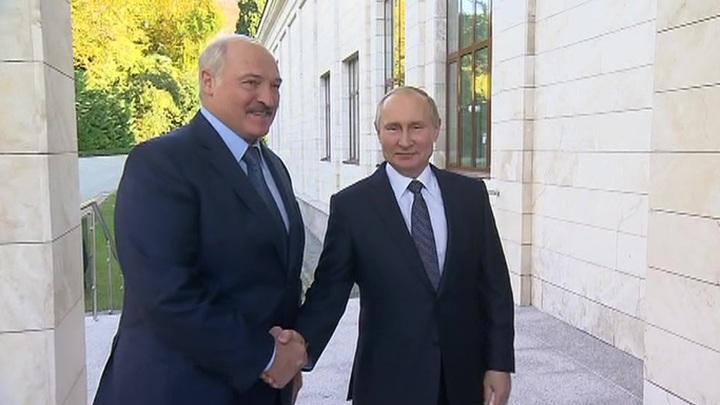 Плодотворно поработали: Путин и Лукашенко говорили более пяти часов
