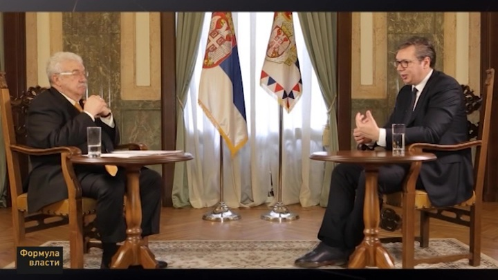 Формула власти. Президент Сербии Александр Вучич