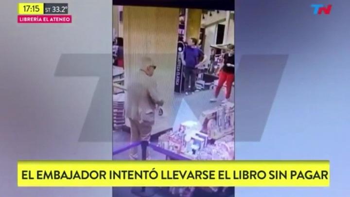 Посол Мексики в Аргентине попался на мелкой краже в магазине