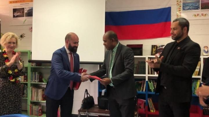В Папуа - Новой Гвинее по поручению Дмитрия Медведева открылся российский кабинет