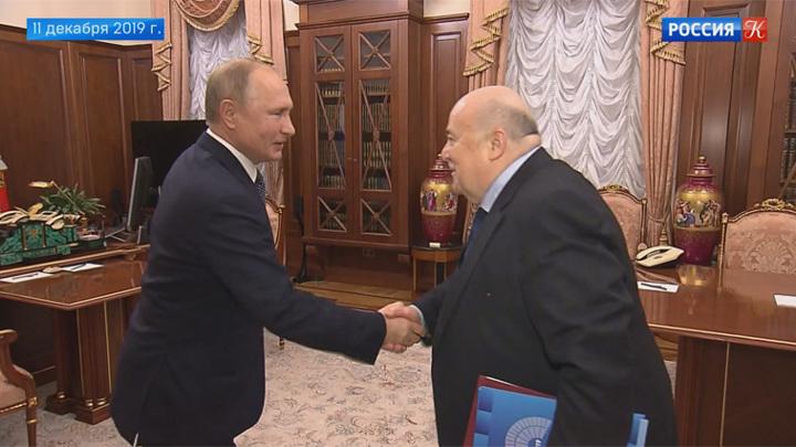 Владимир Путин и Александр Калягин обсудили итоги Года театра