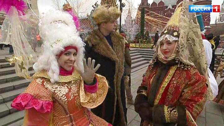 """""""Путешествие в Рождество"""" стартует на Манежной площади"""