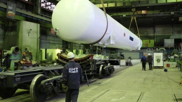 На космодроме Восточный начинается монтаж второго стартового стола