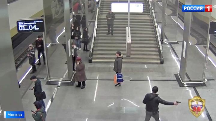 Стрельба в столичном метро: объяснить мотивы своих действий хулиган не смог