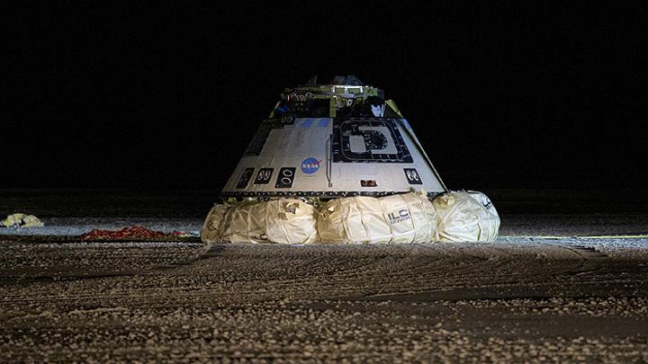 Запуск космического корабля Starliner без экипажа отложен из-за холодов